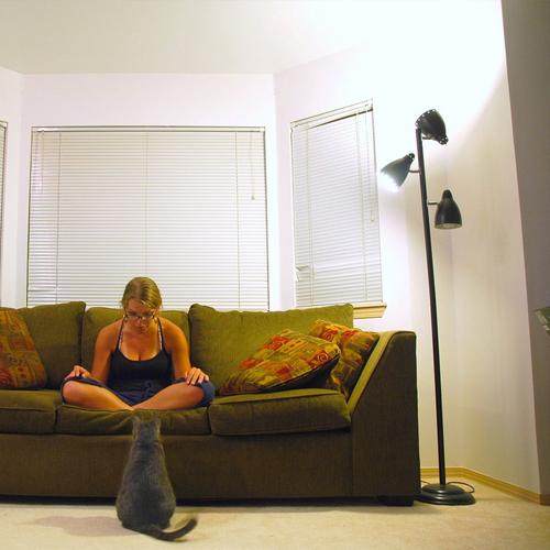 Lighting a large room
